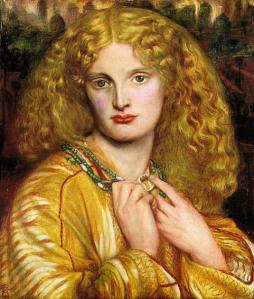 Helen of Troy - DG Rossetti